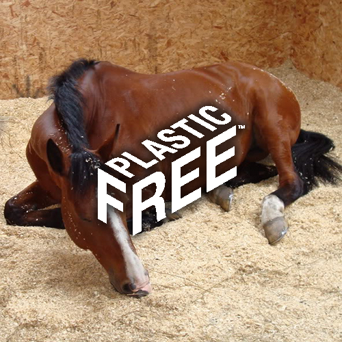 PLASTIC FREE BEDDING FOR HORSES